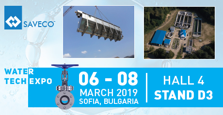 Equipment by SAVECO at the Water Tech Trade Fair in Bulgaria